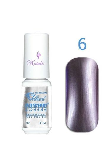 Gelliant Mirror Chrome Polish nº 006 Bitter Choclate de 9 ml.